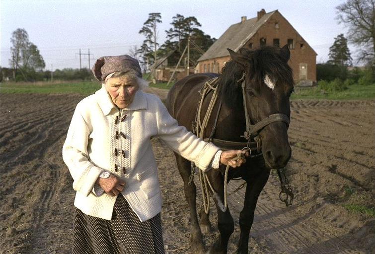 Lena mit Pferd