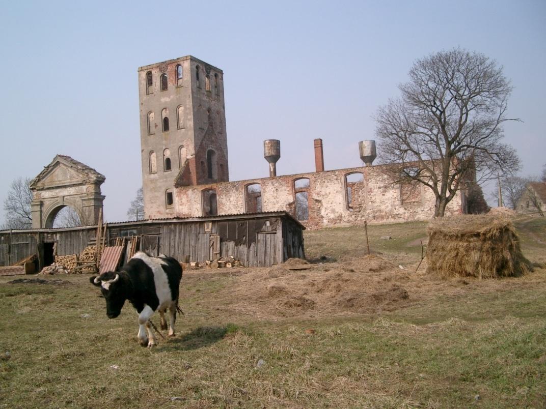 Kirchenruine im Kaliningrader Oblast