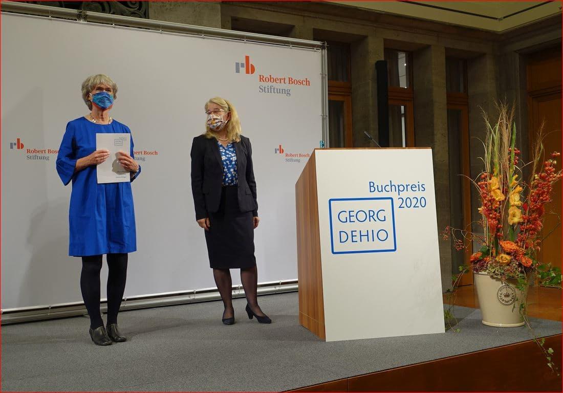 Dehio-Preis-Verleihung 1. Oktober 2020 in der Berliner Robert-Bosch-Stiftung